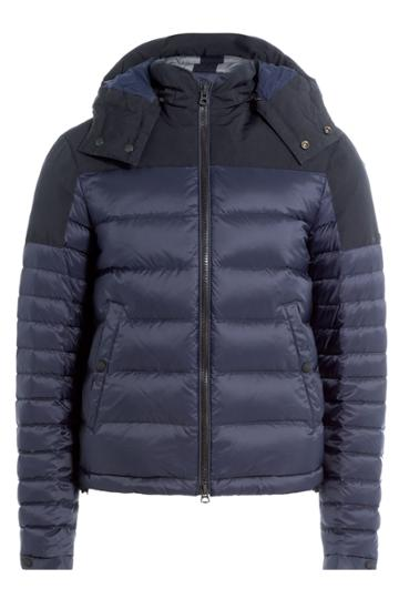 Burberry Brit Burberry Brit Quilted Parka - Blue