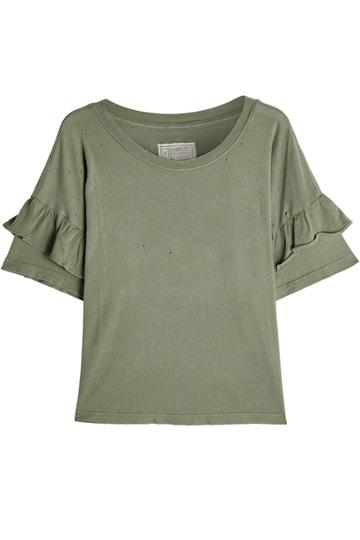 Current/elliott Current/elliott Cotton T-shirt