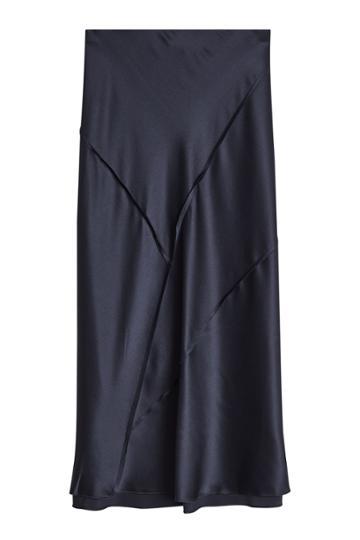 Vince Vince Silk Skirt