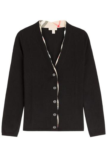 Burberry Brit Burberry Brit Wool Cardigan - Black