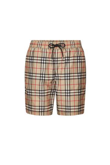 Burberry Burberry Checked Drawstring Shorts