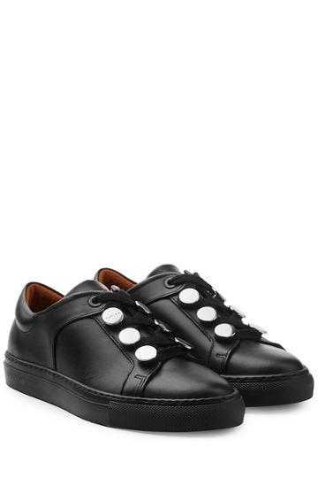 Carven Carven Leather Sneakers - Black