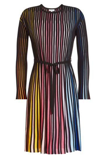 Kenzo Kenzo Striped Dress With Cotton