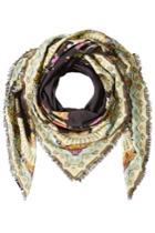 Etro Etro Cotton-cashmere Printed Scarf - Multicolor