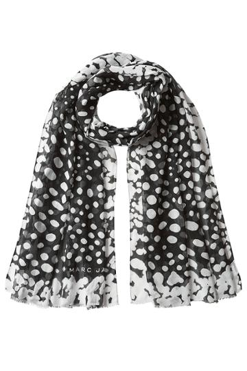 Marc Jacobs Marc Jacobs Printed Scarf With Silk