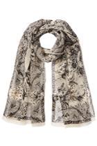 Etro Etro Printed Silk Chiffon Scarf