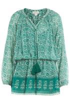 Talitha Talitha Printed Silk Dress - None
