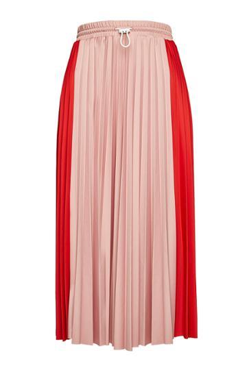 Moncler Moncler Pleated Midi Skirt