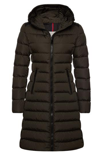 Moncler Moncler Tales Quilted Down Coat With Hood