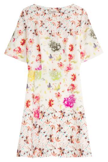 Etro Etro Floral Print Silk Dress - Florals