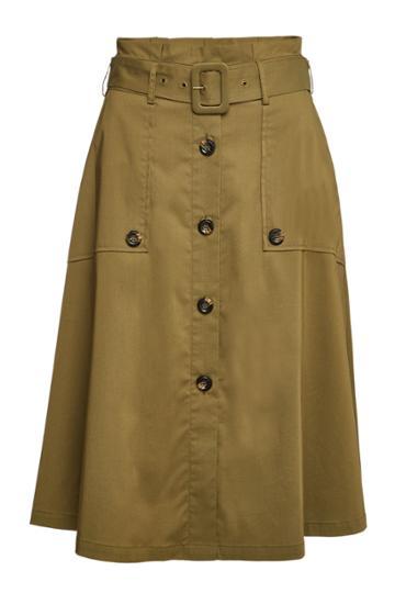 Steffen Schraut Steffen Schraut Midi Skirt With Cotton