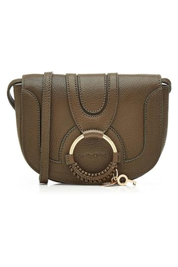 See By Chlo See By Chlo Leather Shoulder Bag