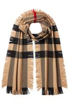 Burberry Burberry Printed Wool Scarf