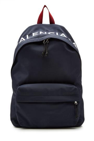 Balenciaga Balenciaga Logo Backpack