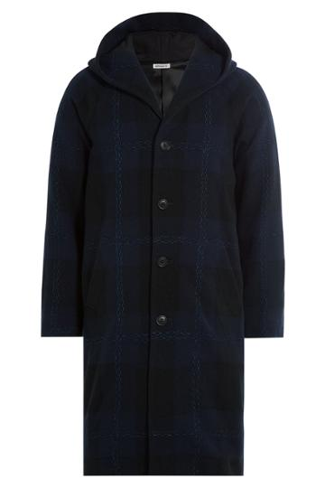 Blue Blue Japan Blue Blue Japan Wool Coat - Blue