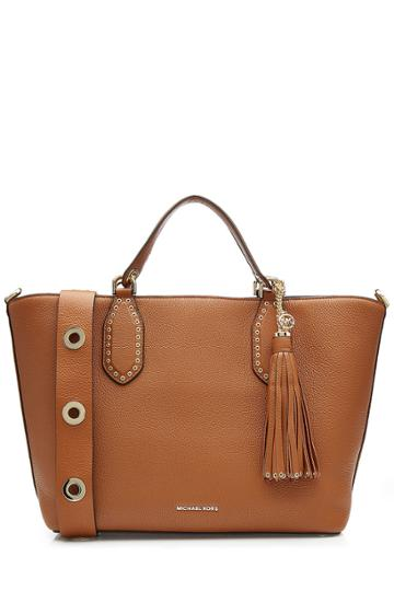Michael Michael Kors Michael Michael Kors Embellished Leather Tote