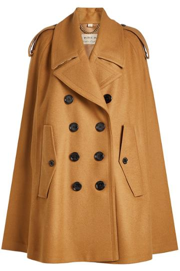 Burberry Burberry Wool Cape