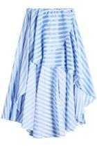 Caroline Constas Caroline Constas Striped Cotton Skirt