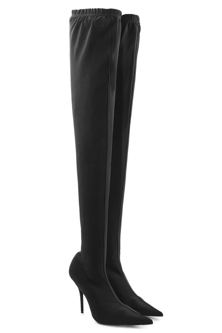 Balenciaga Balenciaga Thigh-high Stiletto Boots