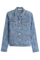 Kenzo Kenzo Printed Denim Jacket
