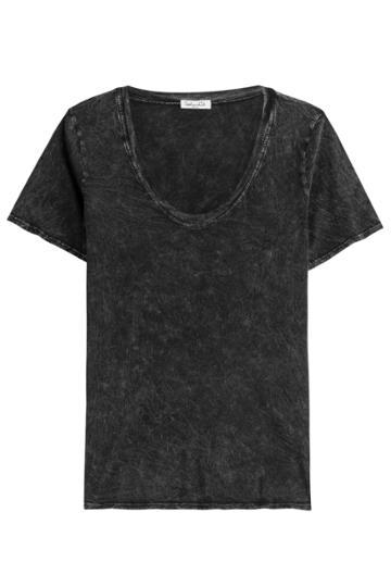 Splendid Splendid Treated Cotton T-shirt