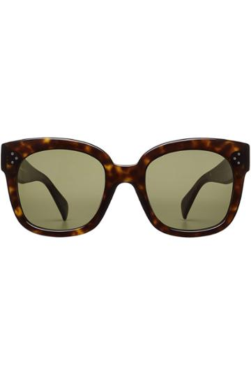 Céline Eyewear Céline Eyewear Square Sunglasses - Brown