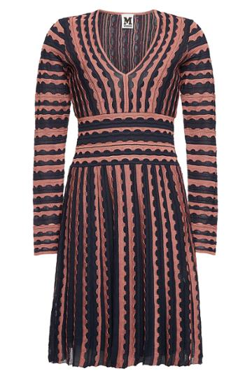 M Missoni M Missoni Printed Mini Dress With Cotton