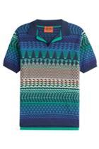 Missoni Missoni Striped Cotton Polo Shirt - Multicolor