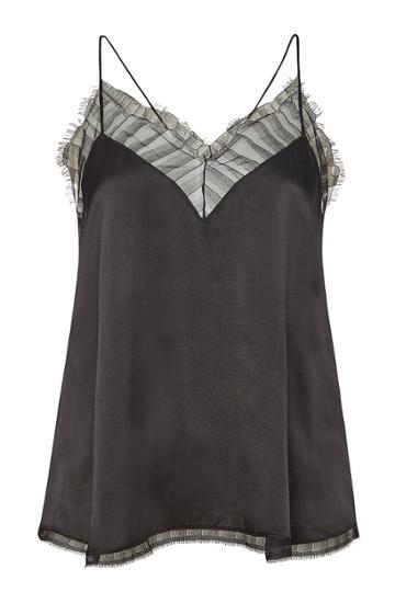 Iro Iro Berwyn Silk Camisole With Lace