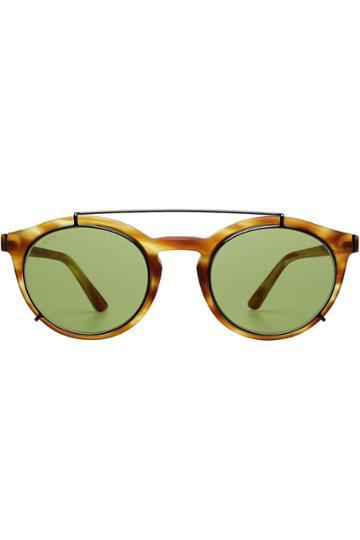 Tod's Tod's Tortoiseshell Sunglasses - Camel