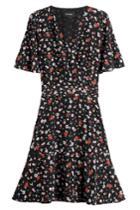 The Kooples The Kooples Printed Silk Dress