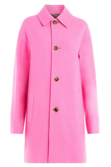 Just Cavalli Just Cavalli Wool Coat - Pink