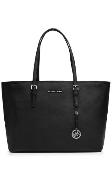 Michael Michael Kors Michael Michael Kors Jet Set Leather Tote