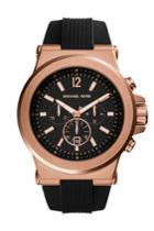 Michael Kors Michael Kors Dylan Rose Gold-tone Stainless Steel Watch