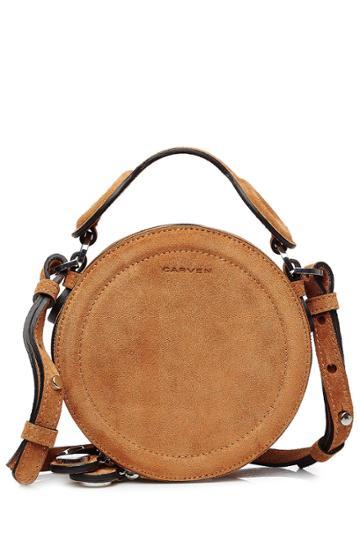 Carven Carven Suede Shoulder Bag