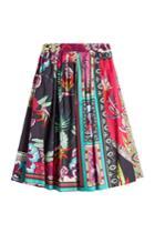 Etro Etro Printed Cotton Skirt