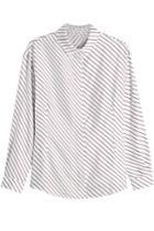 Carven Carven Striped Silk Shirt