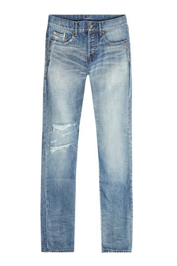Saint Laurent Saint Laurent Distressed Jeans