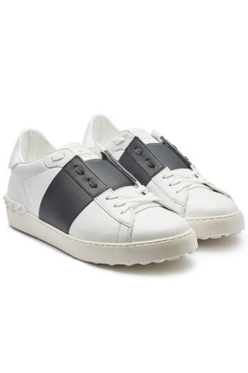 Valentino Valentino Classic Leather Sneakers