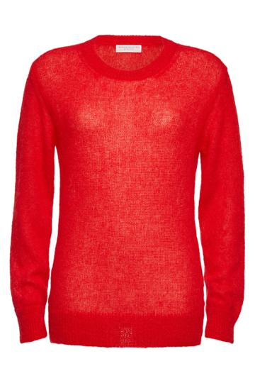 Majestic Majestic Knit Pullover With Mohair And Alpaca