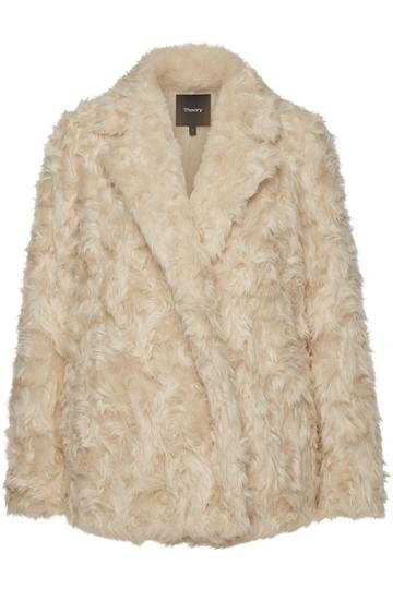 Theory Theory Clairene Faux Fur Jacket