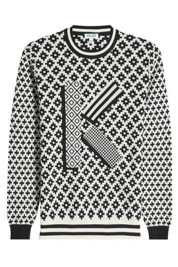 Kenzo Kenzo Knit Pullover With Wool And Cotton
