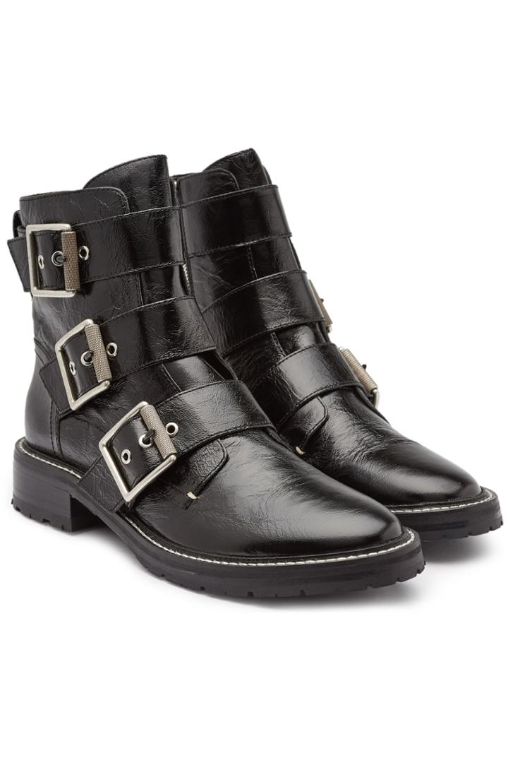 Rag & Bone Rag & Bone Cannon Leather Ankle Boots
