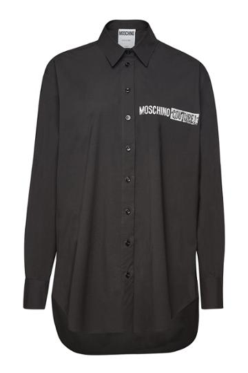 Moschino Moschino Printed Cotton Shirt