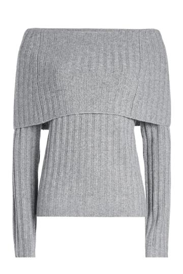 Theory Theory Ribbed Cashmere Pullover