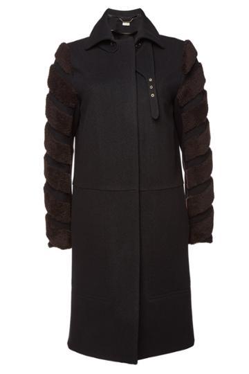 By Malene Birger By Malene Birger Belianna Wool Coat With Shearling