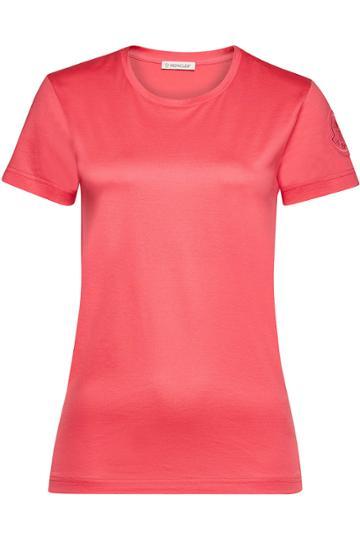 Moncler Moncler Cotton T-shirt With Logo