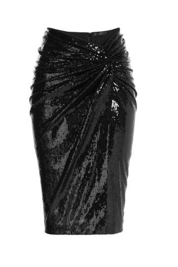Donna Karan Donna Karan Sequin Skirt - Black