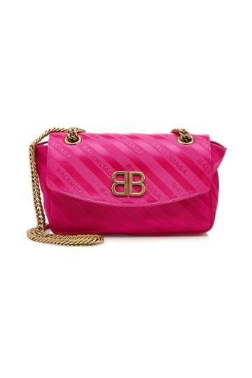Balenciaga Balenciaga Chain Jacquard Shoulder Bag
