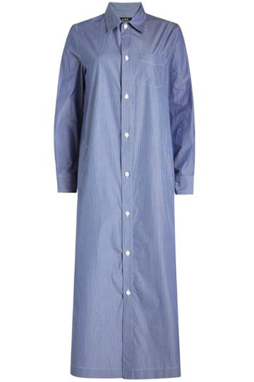 A.p.c. A.p.c. Millie Cotton Shirt Dress